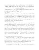 MỘT SỐ GIẢIPHÁP HOÀN THIỆN CÔNG TÁC KẾ TOÁN TẬP HỢP CHI PHÍ VÀ TÍNH GIÁ THÀNH SẢN PHẨM TẠi CÔNG TY CỔ PHẦN SƠN TỔNG HỢP HÀ NỘi