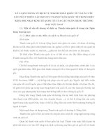 LÝ LUẬN CHUNG VỀ DỊCH VỤ THANH TOÁN QUỐC TẾ VÀ CÁC YÊU CẦU PHÁT TRIỂN CÁC DỊCH VỤ THANH TOÁN QUỐC TẾ TRONG ĐIỀU KIỆN HỘI NHẬP KINH TẾ QUỐC TẾ CỦA CÁC NGÂN HÀNG THƯƠNG MẠI VIỆT NAM