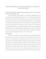 MỘT SỐ GIẢI PHÁP NHẰM THÚC ĐẨY HOẠT ĐỘNG TIÊU THỤ SẢN PHẨM CỦA CÔNG TY RƯỢU HÀ NỘI