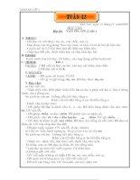 Giáo án Lớp 1-Tuần 12
