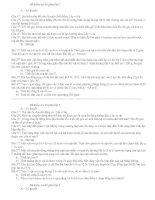 Các đề kiểm tra tự luân lớp 10