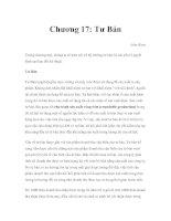 Kinh tế vi mô - Chương 17: Tư Bản
