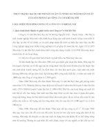 THỰC TRẠNG HẠCH CHI PHÍ SẢN XUẤT VÀ TÍNH GIÁ THÀNH SẢN XUẤT CỦA SẢN PHẨM TẠI CÔNG TY CƠ KHÍ HÀ NÔỊ