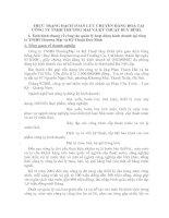 THỰC TRẠNG HẠCH TOÁN LƯU CHUYỂN HÀNG HOÁ TẠI CÔNG TY TNHH THƯƠNG MẠI VÀ KỸ THUẬT DUY BÌNH