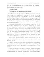 MỘT SỐ GIẢI PHÁP HOÀN THIỆN QUẢN TRỊ NGUỒN NHÂN LỰC TẠI XÍ NGHIỆP XÂY DỰNG CÔNG TRÌNH
