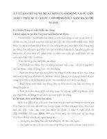 LÝ LUẬN CHUNG VỀ XUẤT KHẨU LAO ĐỘNG VÀ SỰ CẦN THIẾT PHẢI XUẤT KHẨU LAO ĐỘNG VIỆT NAM RA NƯỚC NGOÀI