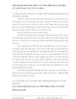 MỘT SỐ GIẢI PHÁP NHẰM NÂNG CAO CHẤT LƯỢNG DỊCH VỤ CHĂM SÓC KHÁCH HÀNG CỦA VNPT NAM ĐỊNH