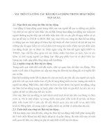 VAI  TRÒ CỦA CÔNG TÁC BẢO HỘ LAO ĐỘNG TRONG HOẠT ĐỘNG SẢN XUẤT