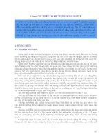 Chương 7. Thiên tai khí tượng nông nghiệp