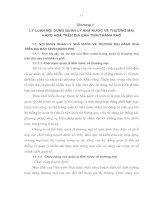 LÝ LUẬN NỘI DUNG QUẢN LÝ NHÀ NƯỚC VỀ THƯƠNG MẠI HÀNG HÓA TRÊN ĐỊA BÀN TỈNH, THÀNH PHỐ