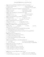 ÔN TẬP LÝ 12 - ĐÁP ÁN