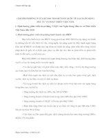 GIẢI PHÁP PHÒNG NGỪA RỦI RO THANH TOÁN QUỐC TẾ TẠI NGÂN HÀNG ĐẦU TƯ VÀ PHÁT TRIỂN VIỆT NAM