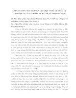 THỰC TẾ CÔNG TÁC KẾ TOÁN VẬT LIỆU  CÔNG CỤ DỤNG CỤ TẠI CÔNG TY CỔ PHẦN ĐẦU TƯ XÂY DỰNG GIAO THÔNG 6