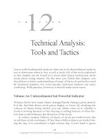 Technical Analysis - Tools and Tactics