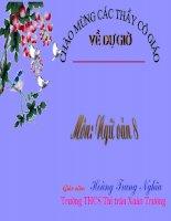 Tiết 57: Văn bản: Vào nhà ngục Quảng Đông cảm tác