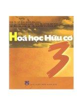 GIAO TRINH HOA HUU CO TAP 3 RANG