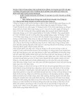 PHÂN TÍCH TÌNH HÌNH TÀI CHÍNH CỦA CÔNG TY DỤNG CỤ CẮT VÀ ĐO LƯỜNG CƠ KHÍ CHỦ YẾU THÔNG QUA BẢNG CÂN ĐỐI KẾ TOÁN VÀ BÁO CÁO KẾT QUẢ KINH DOANH