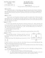 De thi HSG mon vat ly 9(thang 11)