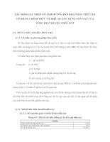 XÁC ĐỊNH CÁC NHÂN TỐ ẢNH HƯỞNG ĐẾN KHẢ NĂNG TIẾP CẬN TÍN DỤNG CHÍNH THỨC VÀ HIỆU QUẢ SỬ DỤNG VỐN VAY CỦA NÔNG HỘ Ở HUYỆN THỐT NỐT