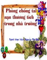 Phong chong tai nan thuong tich trong nha truong
