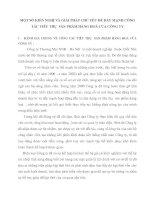 MỘT SỐ KIẾN NGHỊ VÀ GIẢI PHÁP CHỦ YẾU ĐỂ ĐẨY MẠNH CÔNG TÁC TIÊU THỤ  SẢN PHẨM HÀNG HOÁ CỦA CÔNG TY