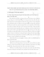PHÂN TÍCH THIẾT KẾ PHẦN MỀM QUẢN LÝ NGUỒN VỐN DỰ ÁN ĐẦU TƯ TẠI SỞ KẾ HOẠCH VÀ ĐẨU TƯ TỈNH ĐIỆN BIÊN