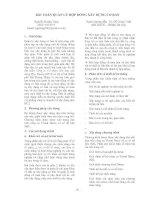 041_Bài toán quản lý hợp đồng xây dựng cơ bản