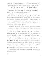 THỰC TRẠNG VỀ TỔ CHỨC CÔNG TÁC KẾ TOÁN TIỀN LƯƠNG VÀ CÁC KHOẢN TRÍCH THEO LƯƠNG TẠI TRUNG TÂM THƯƠNG MẠI  DỊCH VỤ   DU LỊCH  KHÁCH SẠN THANH HOÁ