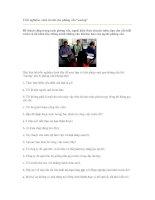 Trắc nghiệm: cách trả lời câu phỏng vấn
