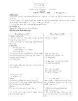 Giáo án 5-Tuần 14(CKTKN- BVMT)