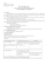 ôn tập giải tích 12 học kỳ 1(hay)