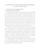 LÝ LUẬN CHUNG VỀ VIỆC PHÁT HÀNH TRÁI PHIẾU CHÍNH PHỦ CHO ĐẦU TƯ PHÁT TRIỂN