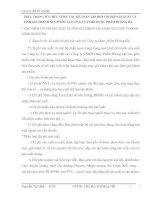 THỰC TRẠNG TỔ CHỨC CÔNG TÁC KẾ TOÁN TẬP HỢP CHI PHÍ SẢN XUẤT VÀ TÍNH GIÁ THÀNH SẢN PHẨM TẠI CÔNG TY TNHH DƯỢC PHẨM HOÀNG HÀ