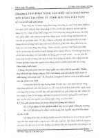 GIẢI PHÁP NÂNG CAO HIỆU QUẢ HOẠT ĐÔNG BÁN HÀNG TẠI CÔNG TY TNHH SƠN TOA VIỆT NAM