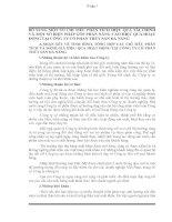 BỔ SUNG MỘT SỐ CHỈ TIÊU PHÂN TÍCH HIỆU QUẢ TÀI CHÍNH VÀ MỘT SỐ BIỆN PHÁP GÓP PHẦN NÂNG CAO HIỆU QUẢ HOẠT ĐỘNG TẠI CÔNG TY CỔ PHẦN THỦY SẢN ĐÀ NẴNG