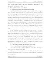 MỘT SỐ GIẢI PHÁP NÂNG CAO HIỆU QUẢ HOẠT ĐỘNG QUẢN TRỊ BÁN HÀNG TẠI CÔNG TY A.D.A