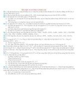 BÀI TẬP HÓA HỌC 10 CHƯƠNG 3 HAY