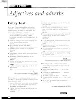 Grammar and Vocabulary for Cambridge Advanced and Proficiency - Adjectives and adverbs