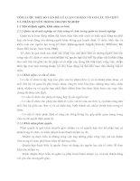 TÓM LƯỢC MỘT SỐ VẤN ĐỀ LÝ LUẬN CƠ BẢN VỀ CƠ CẤU TỔ CHỨC VÀ PHÂN QUYỀN TRONG DOANH NGHIỆP