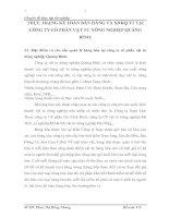 THỰC TRẠNG KẾ TOÁN BÁN HÀNG VÀ XĐKQ TT TẠI CÔNG TY CỔ PHẦN VẬT TƯ NÔNG NGHIỆP QUẢNG BÌNH