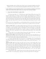 PHẦN II HIỆU QUẢ CÔNG TÁC ĐÀO TẠO VÀ PHÁT TRIỂN NGUỒN NHÂN LỰC CỦA NGÀNH HÀNG KHÔNG DÂN DỤNG VIỆT NAM