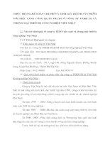 THỰC TRẠNG KẾ TOÁN CHI PHÍ VÀ TÍNH GIÁ THÀNH SẢN PHẨM VỚI VIỆC TĂNG CƯỜNG QUẢN TRỊ DN Ở CÔNG TY TNHH SX VÀ THƯƠNG MẠI THIẾT BỊ CÔNG NGHIỆP VIỆT NHẬT