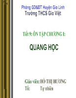 ON TAP CHUONG QUANG HOC... HOT