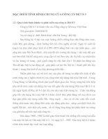 ĐẶC ĐIỂM TÌNH HÌNH CHUNG CỦA CÔNG TY DỆT 8-3