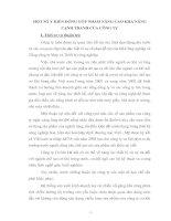 MỘT SỐ Ý KIẾN ĐÓNG GÓP NHẰM NÂNG CAO KHẢ NĂNG CẠNH TRANH CỦA CÔNG TY