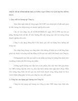 PHÂN TÍCH TÌNH HÌNH TRẢ LƯƠNG TẠI CÔNG TY XÂY DỰNG SÔNG ĐÀ 8