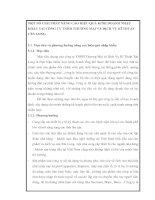 MỘT SỐ GIẢI PHÁP NÂNG CAO HIỆU QUẢ KINH DOANH NHẬP KHẨU TẠI CÔNG TY TNHH THƯƠNG MẠI VÀ DỊCH VỤ KĨ THUẬT TÂN LONG