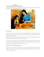 7 sai lầm dễ mắc phải khi dạy con