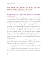GIẢI PHÁP KHAI THÔNG TÍN DỤNG ĐỐI VỚI DNVVN TRÊN ĐỊA BÀN HÀ NỘI TẠI MB