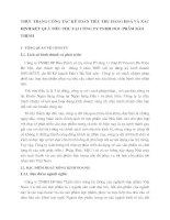 THỰC TRẠNG CÔNG TÁC KẾ TOÁN TIÊU THỤ HÀNG HOÁ VÀ XÁC ĐỊNH KẾT QUẢ TIÊU THỤ TẠI CÔNG TY TNHH DƯỢC PHẨM BẢO THỊNH